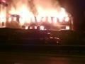 Пожар на М4 05.11.2015