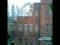 Снос здания бывшего заводоуправления Воронежсельмаш