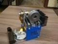 Модель двигателя Стирлинга v 2.0