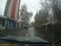 Асфальт в дождь