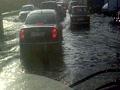 Потоп у речного рынка