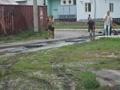 Ремонт дороги на ул.Ломоносова